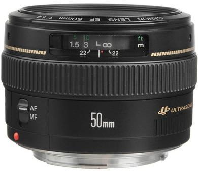 Canon EF 50mm f/1.4 USM + DOPRAVA ZDARMA