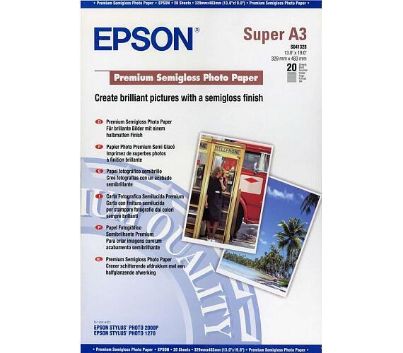Epson A3+ Premium Semigloss Photo (20 sheets)