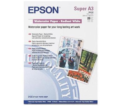 Epson A3+ Watercolour Radiant White (20 sheets) + DOPRAVA ZDARMA