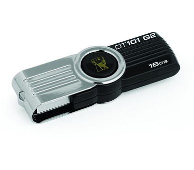 Kingston DataTraveler 101 16GB USB 2.0 - černý