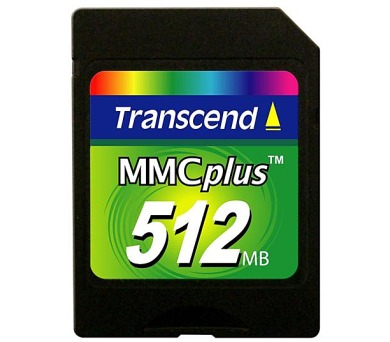 Transcend MMC 512MB High Speed + DOPRAVA ZDARMA