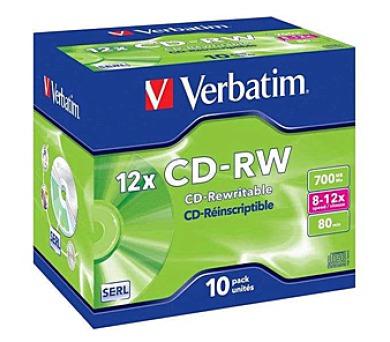 Verbatim CD-RW 700MB/80 min. 8-12x