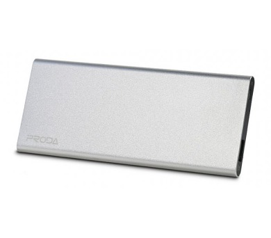 REMAX power banka 12000mAh / Vanguard series / výstup 1x USB 2.0 typ A samice / stříbrná