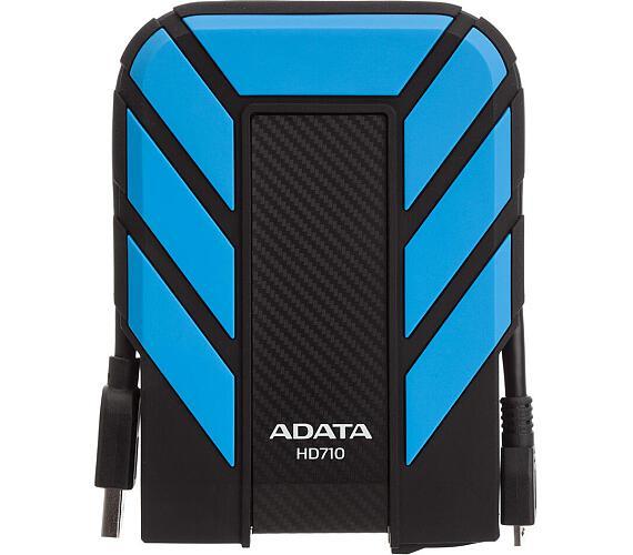 "ADATA HD710P 1TB HDD / Externí / 2,5"" / USB 3.1 / odolný / modrý"