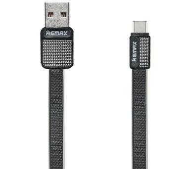 REMAX datový kabel Platinum / RC-044a / USB 2.0 typ A samec na USB Type-C / 1m / černý (RC-044a black)