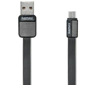 REMAX datový kabel Platinum / RC-044m / USB 2.0 typ A samec na USB 2.0 micro-B / 1m / černý (RC-044m black)