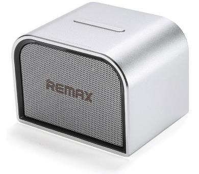 REMAX přenosné repro M8 mini / Bluetooth / kovové tělo /stříbrné