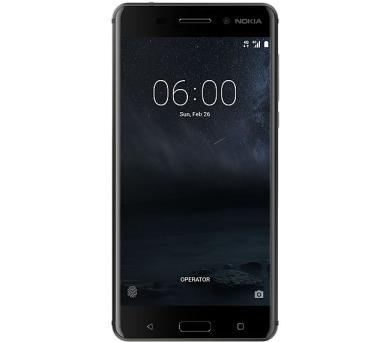 Nokia 6 Dual SIM – černý + DOPRAVA ZDARMA