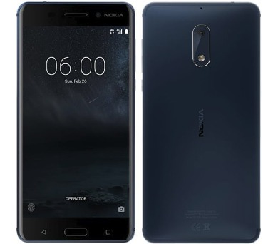 Nokia 6 Dual SIM – modrý
