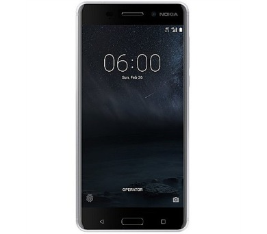 Nokia 6 Dual SIM – stříbrný