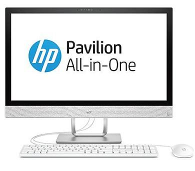 "HP Pavilion 24-r009nc/AiO/23,8""/Intel i5-7400T/8GB/128GB SSD + 1 TB/AMD R530 2GB/ DVDRW/Win 10 Home (2MH48EA#BCM)"