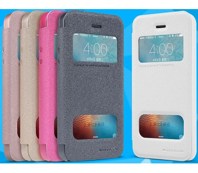 Nillkin Nillkin Sparkle SView pouzdro iPhone 5/5S/SE,White