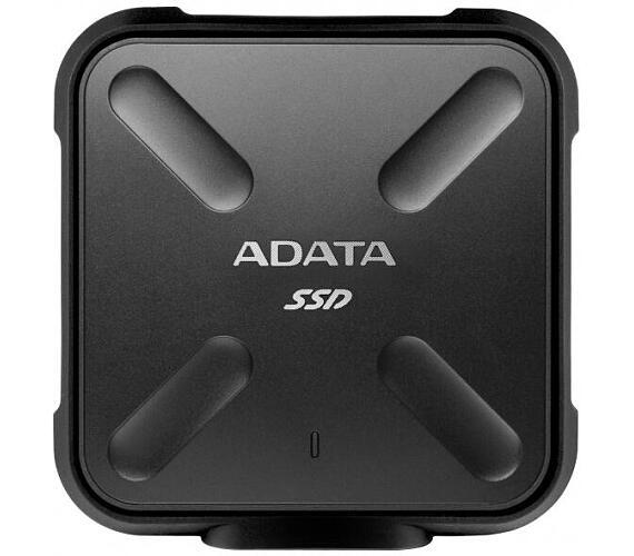 ADATA SD700 1TB SSD / Externí / USB 3.1 Gen 1 / černý