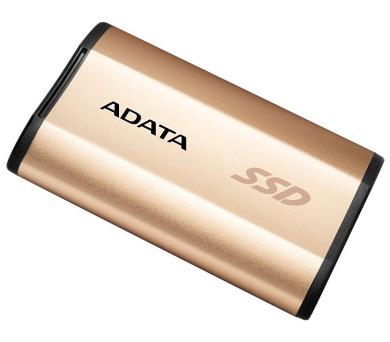 ADATA SE730H 256GB SSD / Externí / USB 3.1 Gen 2 Type-C / zlatý