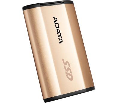 ADATA SE730H 512GB SSD / Externí / USB 3.1 Gen 2 Type-C / zlatý