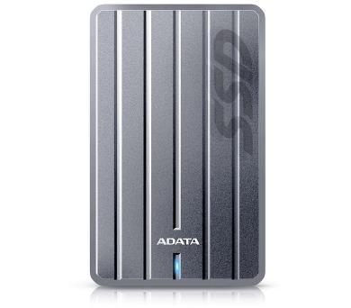 ADATA SC660H 512GB SSD / Externí / USB 3.1 / stříbrný
