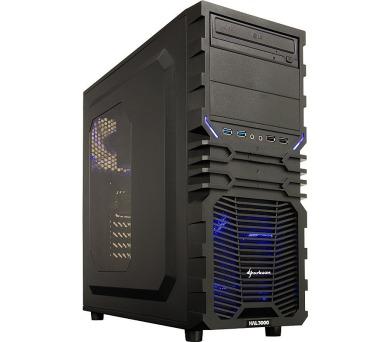 HAL3000 Battlebox Essential IEM 3G by MSI/ Intel i5-7400/ 16GB/ GTX 1060/ 120GB SSD + 1TB HDD/ DVD/ W10 + DOPRAVA ZDARMA