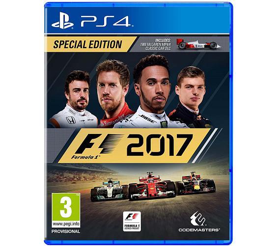 PS4 - F1 2017 + DOPRAVA ZDARMA