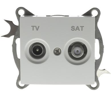 RSB P36 Penny zásuvka TV + SAT Retlux