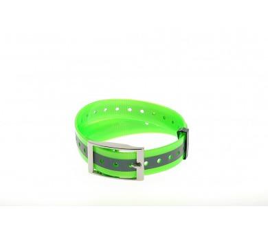 Plastový obojek zelený