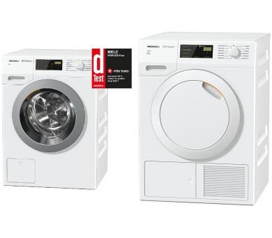 SET Pračka Miele WDB 030 WCS Classic + Sušička Miele TDB230WP Active
