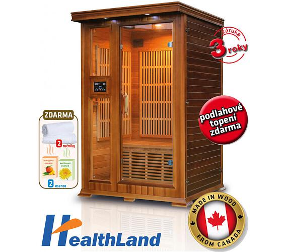 HealthLand DeLuxe 2022 Cedr Carbon + DOPRAVA ZDARMA