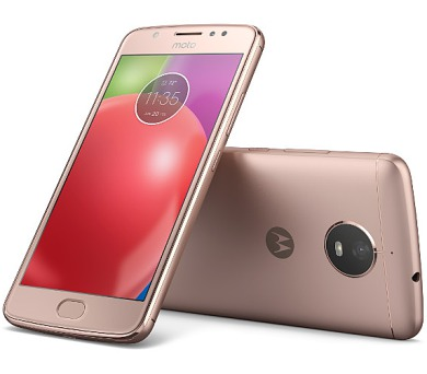"Motorola Moto E Dual SIM/5"" IPS/1280x720/Quad-Core/1,3GHz/2GB/16GB/8Mpx/LTE/Android 7.0/Blush Gold"