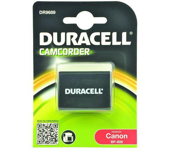 DURACELL Baterie - DR9689 pro Canon BP-808 + DOPRAVA ZDARMA
