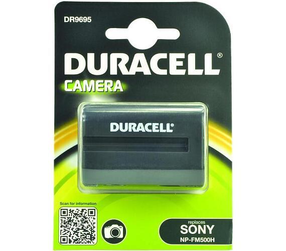 DURACELL Baterie - DR9695 pro Sony NP-FM500H + DOPRAVA ZDARMA