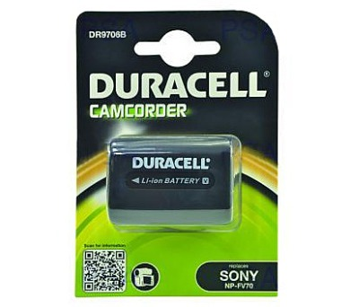 DURACELL Baterie - DR9706B pro Sony NP-FV70 + DOPRAVA ZDARMA