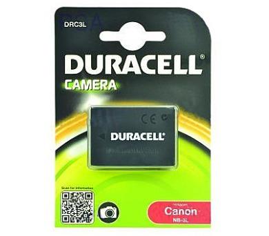 DURACELL Baterie - DRC3L pro Canon NB-3L