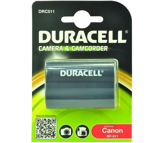 DURACELL Baterie - DRC511 pro Canon DRC511 + DOPRAVA ZDARMA