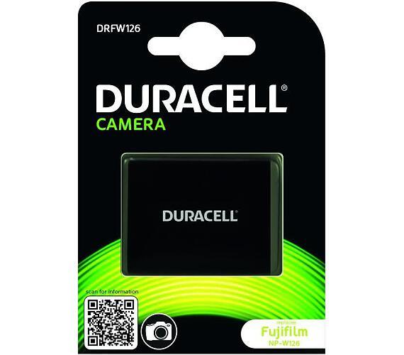 DURACELL Baterie - pro digitální fotoaparát nahrazuje Fujifilm NP-W126
