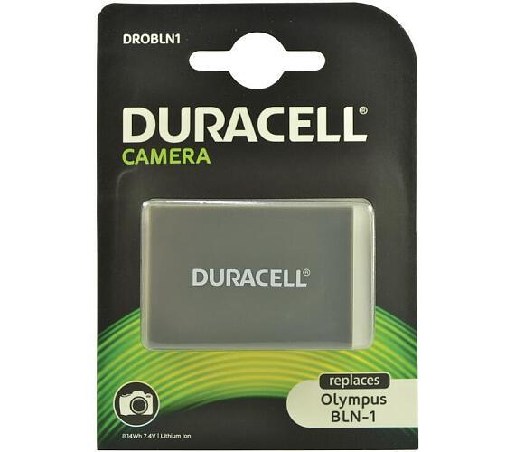 DURACELL Baterie - pro digitální fotoaparát nahrazuzuje Olympus BLN-1 + DOPRAVA ZDARMA