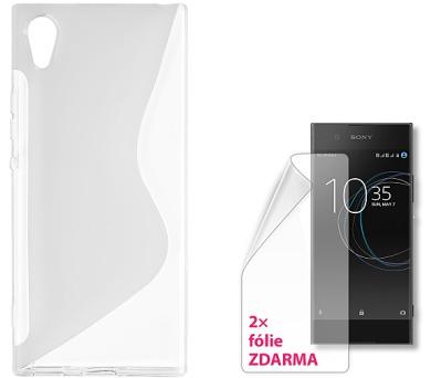CONNECT IT S-COVER pro Sony Xperia XA1 ČIRÉ + 2ks ochranné fólie