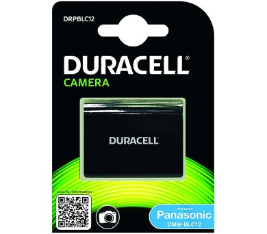 DURACELL Baterie - Baterie do fotoaparátu nahrazuje Panasonic DMW-BLC12 7,4V 950mAh (DRPBLC12)