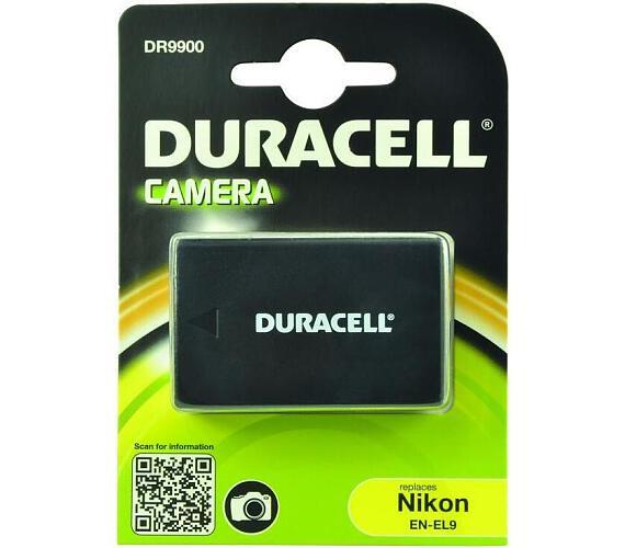 DURACELL Baterie - DR9900 pro Nikon EN-EL9 + DOPRAVA ZDARMA