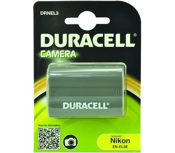 DURACELL Baterie - DRNEL3 pro Nikon EN-EL3 + DOPRAVA ZDARMA