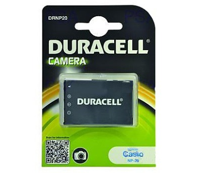 DURACELL Baterie - DRNP20 pro Casio NP-20