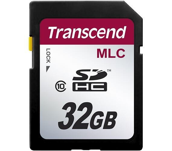 Transcend 32GB SDHC (Class 10) MLC průmyslová paměťová karta (bez adaptéru]
