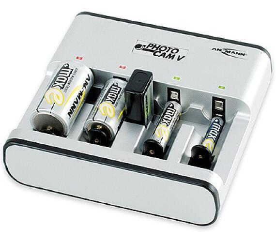 Ansmann PHOTOCAM V LCD nabíječka + DOPRAVA ZDARMA
