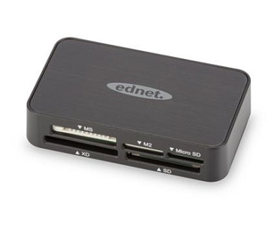Ednet MULTI CARD READER USB 2.0