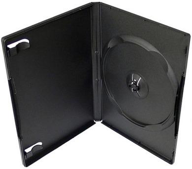 NN box:1 DVD 14mm černý - kvalita pro RUČNÍ balení (27081)