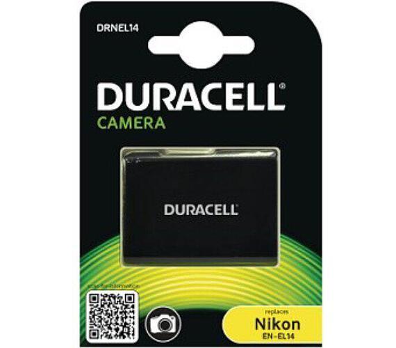 DURACELL Baterie - DRNEL14 pro Nikon EN-EL14 + DOPRAVA ZDARMA