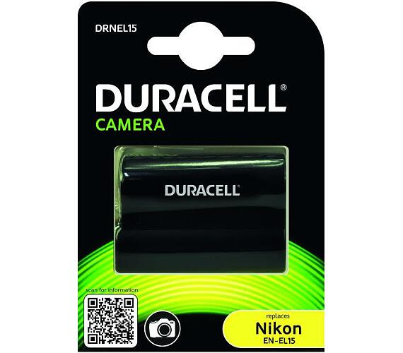 DURACELL Baterie - DRNEL15 pro Nikon EN-EL15