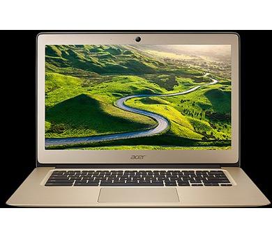 "Acer Chromebook 14 (CB3-431-C5PK) Celeron N3160/4 GB+N/A/eMMC 64GB+N/A/HD Graphics/14"" FHD IPS matný/BT/Google Chrome/Gold"
