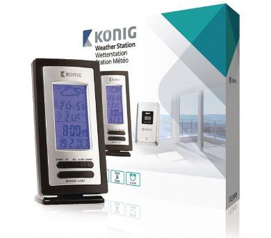 König KN-WS205 - Meteorologická Stanice vnitřní a venkovní