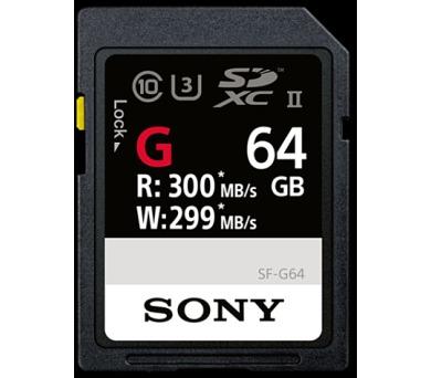 SONY SD karta SF64G 64GB 300 MB/s + DOPRAVA ZDARMA