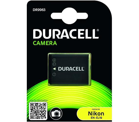 DURACELL Baterie - Baterie do digitálního fotoaparátu nahrazuje Nikon EN-EL19 3,7V 700mAh