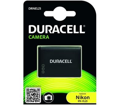 DURACELL Baterie - Baterie do fotoaparátu nahrazuje Nikon EN-EL23 3,7V 1700mAh (DRNEL23)